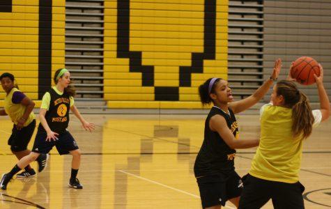 Girls' varsity basketball rebuilds after loss of seniors