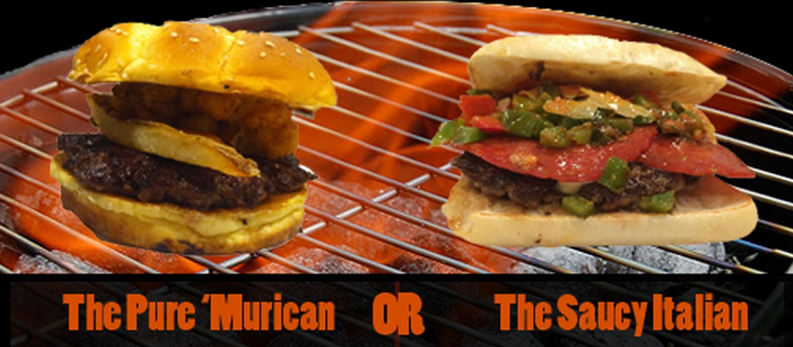 Take the Burger Challenge!