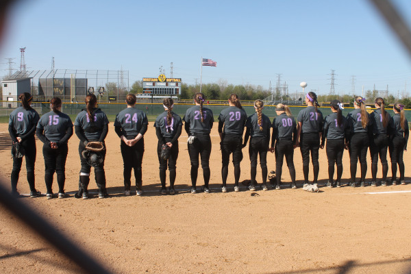 Girls softball strikes out cancer