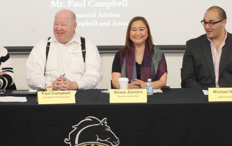 Local professionals teach students how to break into the world of business