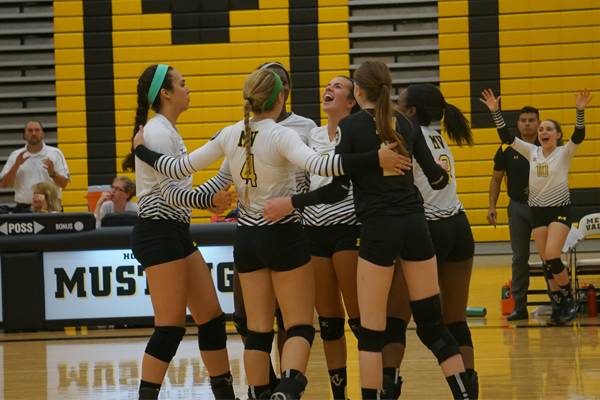 Girls volleyball secures first win of season
