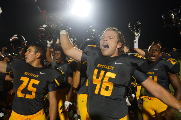 Football triumphs in fourth quarter over Naperville North