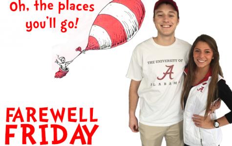 Farewell Friday: Nick Baker and Danielle Schmitt, University of Alabama