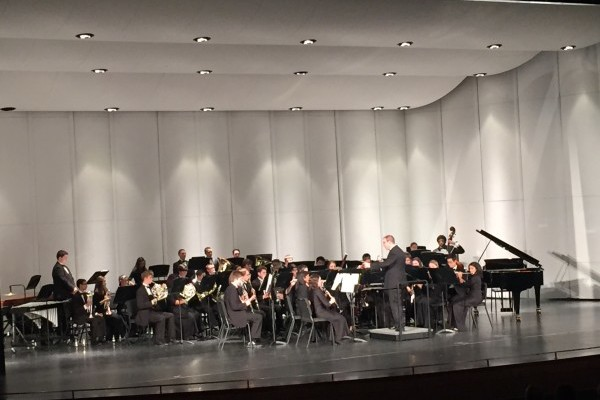Music students perform at the selective ILMEA conference