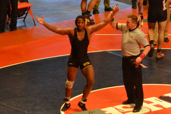 Ervin etches place in wrestling history book with second place state finish