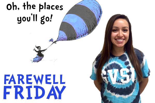 Farewell Friday: Kayla Cruz, Grand Valley State University