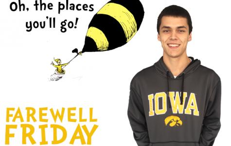 Farewell Friday: Danny Fox, University of Iowa