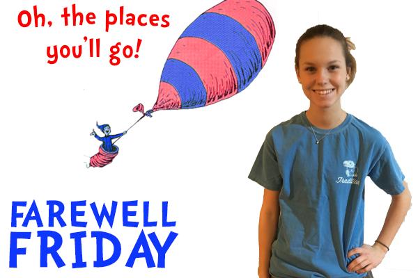 Farewell Friday: Megan Weist, University of Kansas