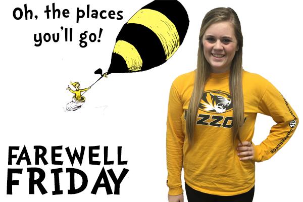 Farewell Friday: Caroline Martin, University of Missouri