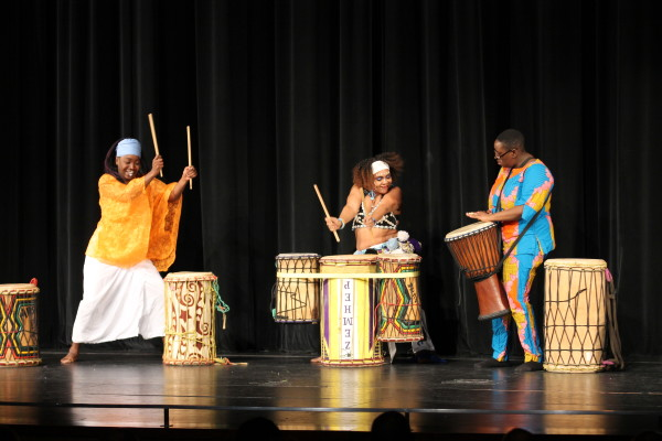 Staff and students celebrate 'hallowed grounds' with Black History Month Assembly