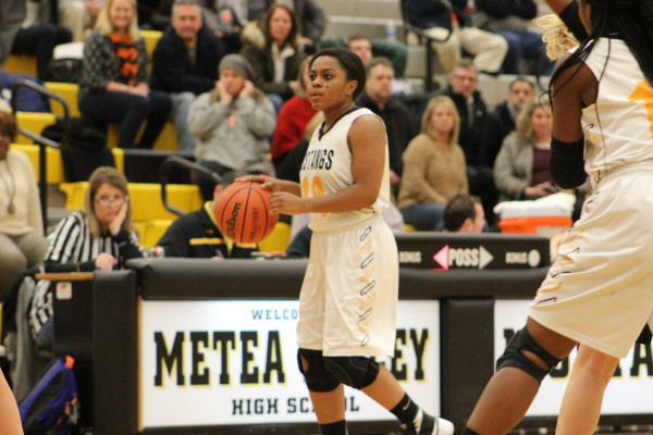 Girls basketball seniors honored on team filled with underclassmen