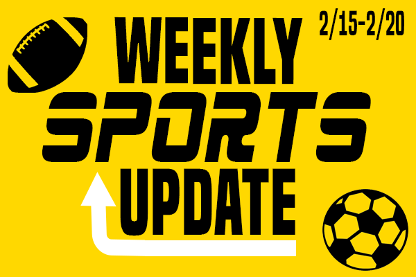 Weekly Sports Update: 2/15-2/20