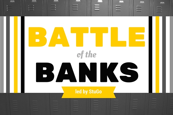 Battle of the Banks initiates school cleanup