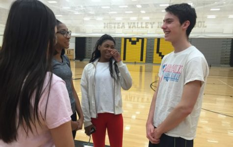 P.E. leaders build relationships with students