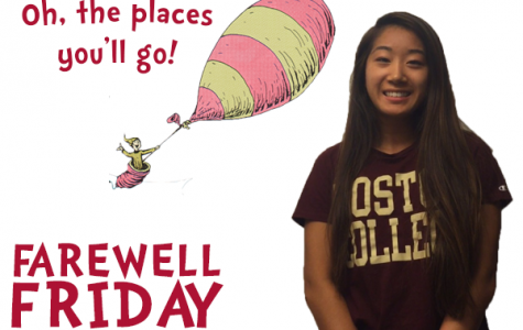 Farewell Friday: Angela Gao, Boston College
