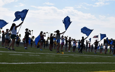 The bond of the flag: A look at the Mustang Color Guard