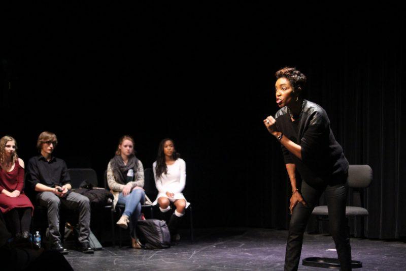Metea Galleries: Tony Award winning actress Heather Headley visits Aida cast