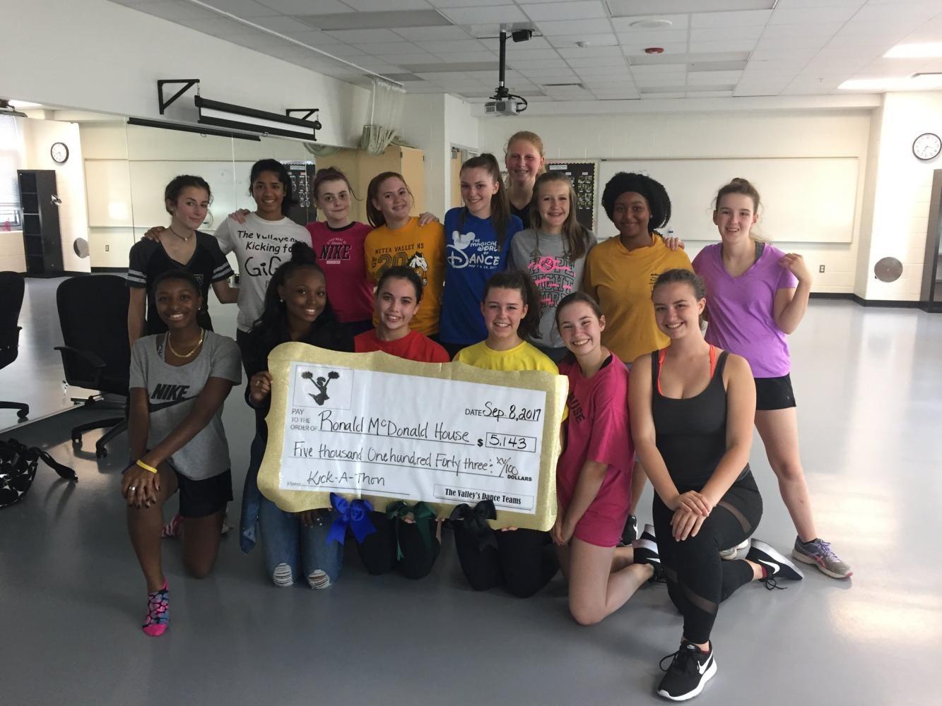 Dance+Team+participates+in+second+annual+kickathon