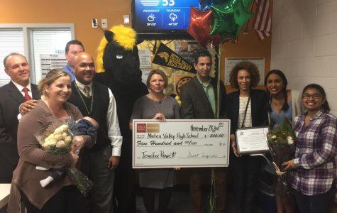 Dean Rowe wins district-wide award