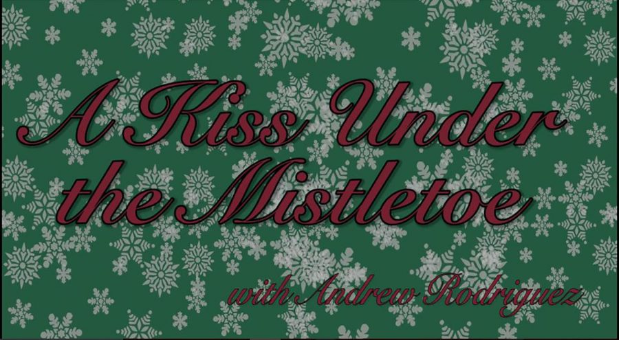 A+Kiss+Under+the+Mistletoe+with+Andrew+Rodriguez