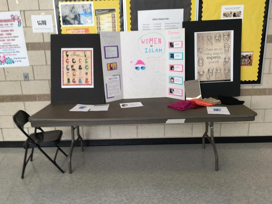 MSA spreads the meaning of a cultural item on World Hijab Day