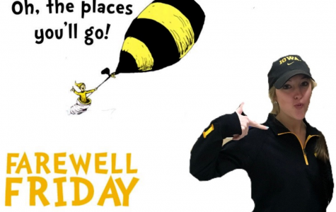 Farewell Friday: Kaylie Clay, University of Iowa