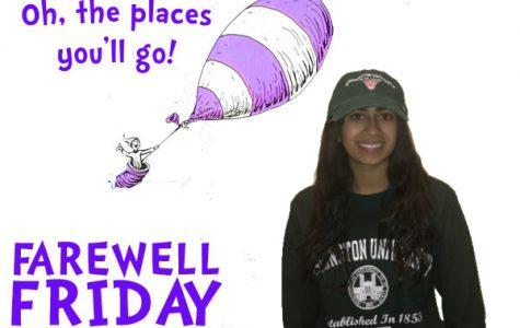 Farewell Friday: Megha Prasad