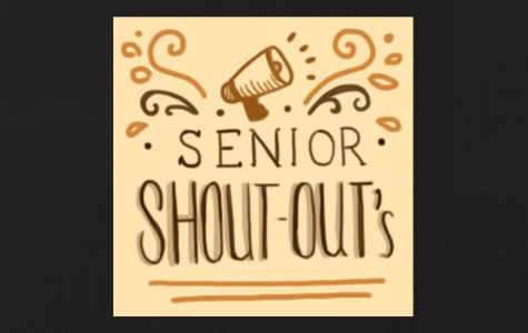 Submit your Senior Shoutouts