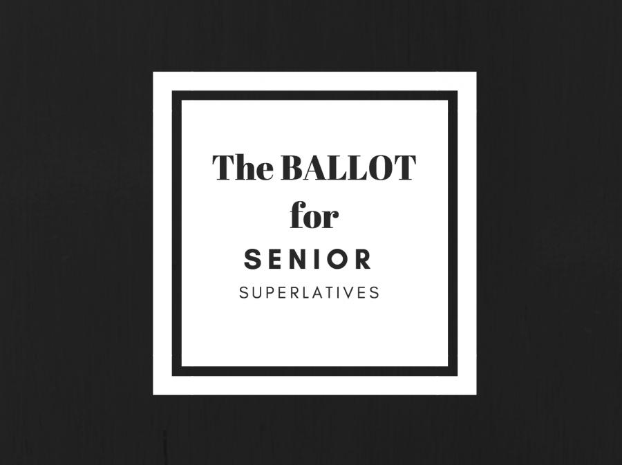 Submit your ballot for Senior Superlatives