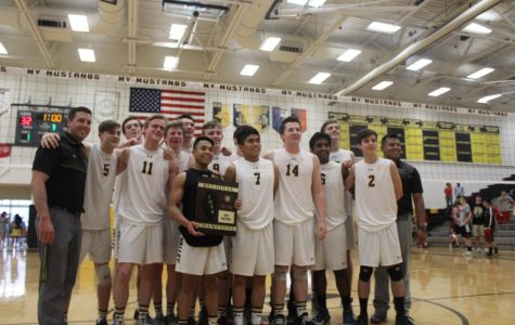 Boys' volleyball makes program history with regional title win