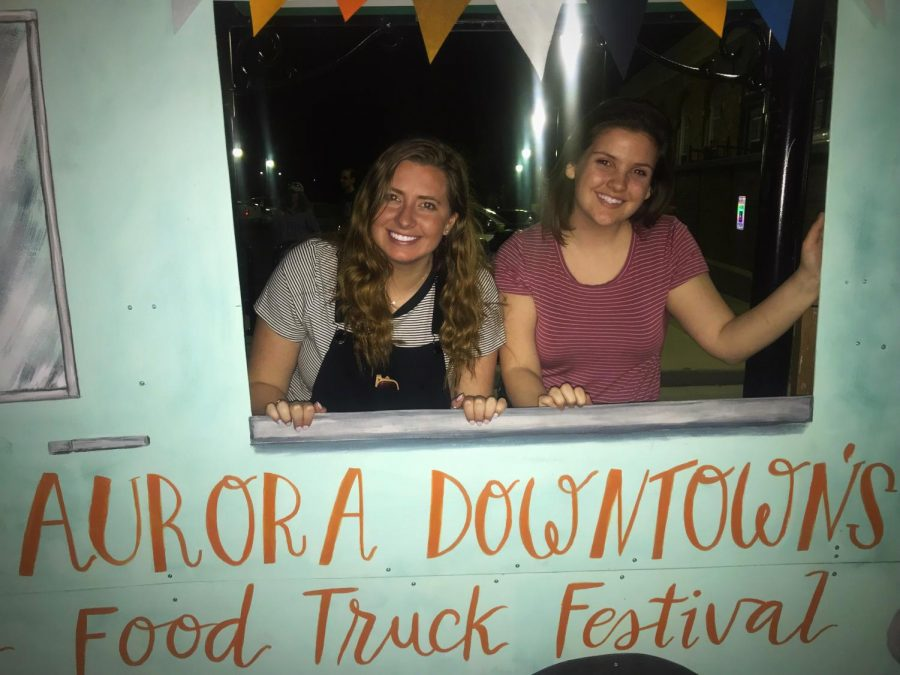 Brittany and Maddie take on: The Food Truck Festival