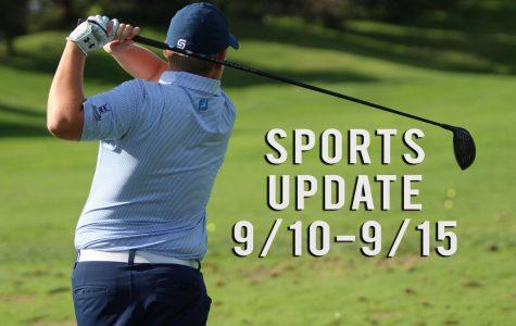 Weekly Sports Update: 9/10-9/15