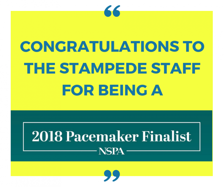 The+Stampede+selected+as+2018+Pacemaker+finalist