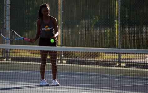 Gallery: Girls' Tennis vs Waubonsie Valley