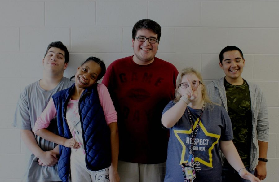 The faces of Special Olympics