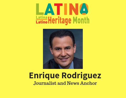 Enrique Rodriquez represents Metea during Latino Heritage Month.