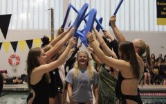 Girls swim and dive seniors' spark emotional thoughts towards swim experience