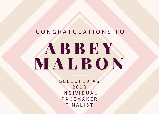 Abbey+Malbon+selected+as+a+Pacemaker+Finalist