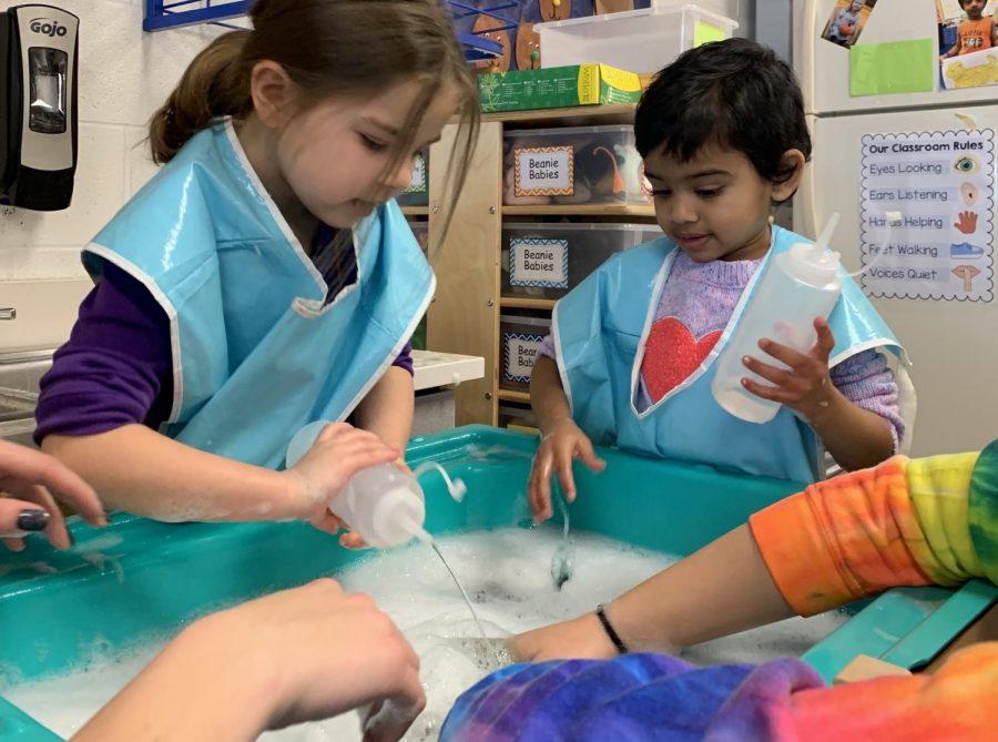 Get to know the mini Mustangs of Metea's preschool course