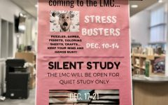 Stress busters in the library help students unwind before finals