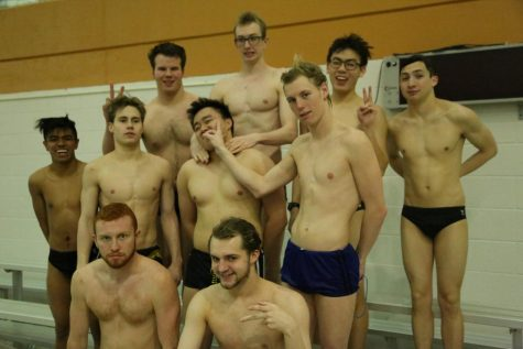 Returning State athletes on Boys' Swim anticipate a new season of success