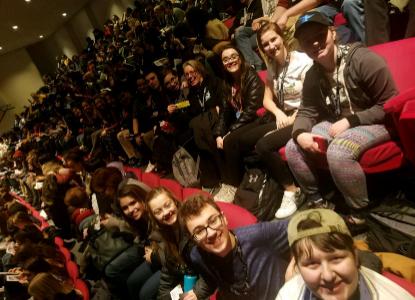 Drama club students attend Theatre Fest