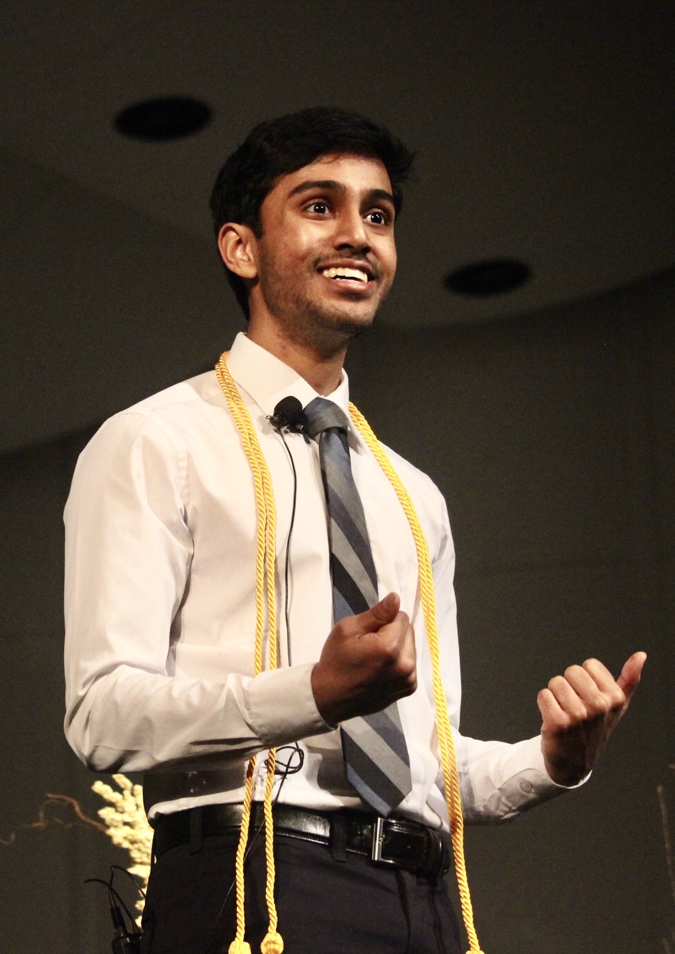 Speech+Team+Member+Amartya+Dave+delivers+his+state-qualifying+oratorical+declamation.