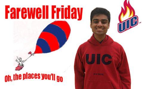 Farewell Friday: Soham Patel