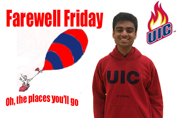 Farewell Friday: Soham Patel