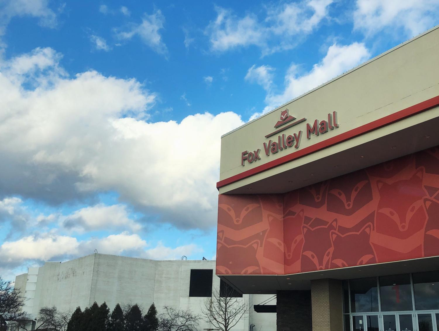 The Fox Valley Mall is the primary target of the Route 59 corridor redevelopment.