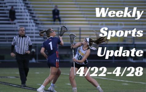Weekly Sports Update 4/22-4/28