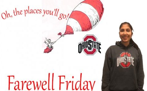 Farewell Friday: Kriti Chawla