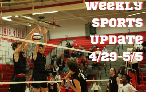 Weekly Sports Update 4/29-5/5