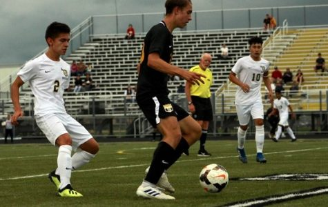 Boys' soccer home opener ends in a fierce draw